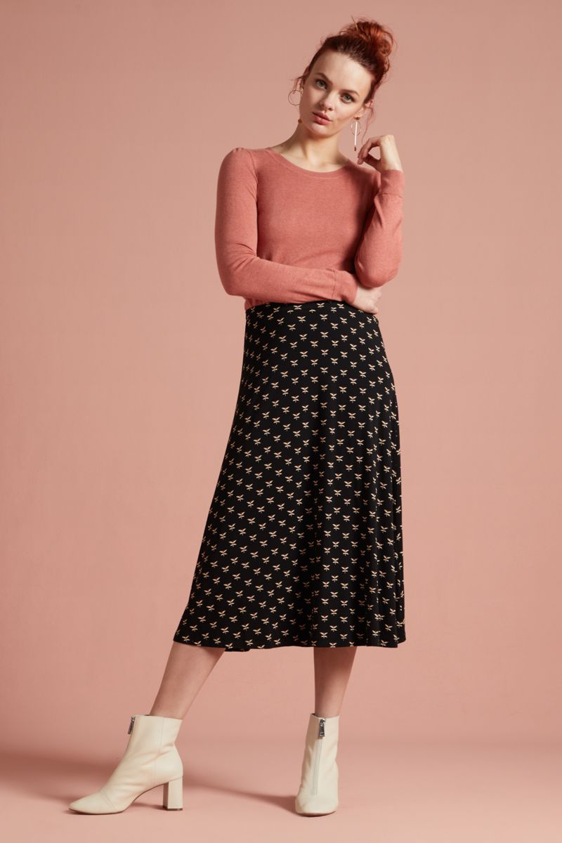 Juno Skirt Willow Black