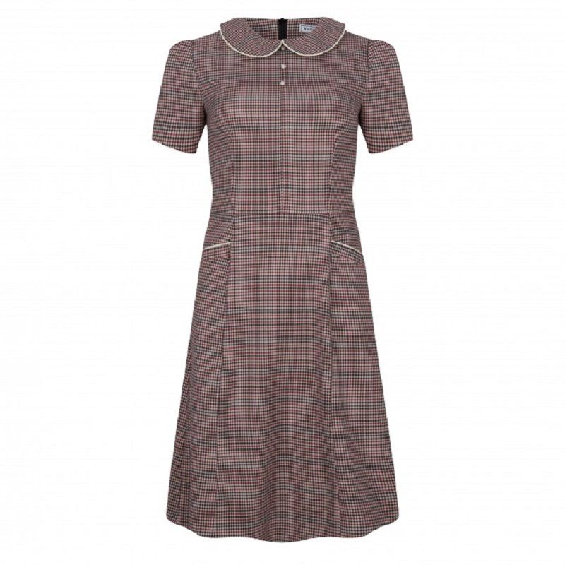 Pan CollarDress Chester Tweed