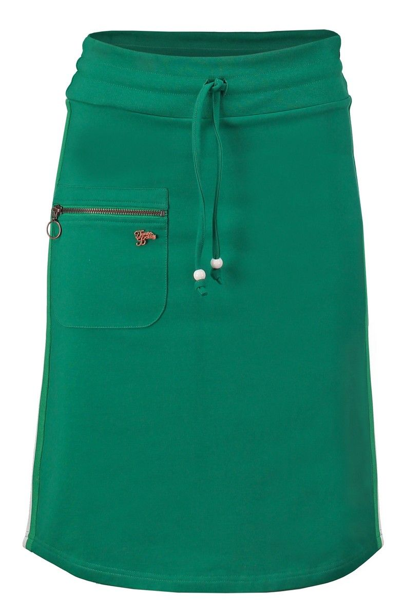 Skirt Zipper (Solid Loopknit) Green
