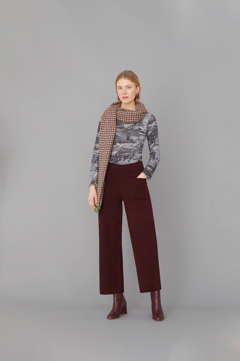 Knit Pants With Pockets Intense Wi