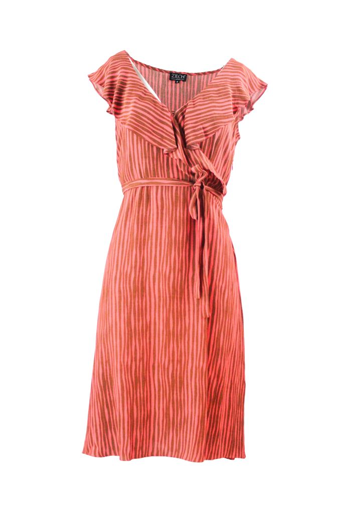 Dress Cross Coral Waves
