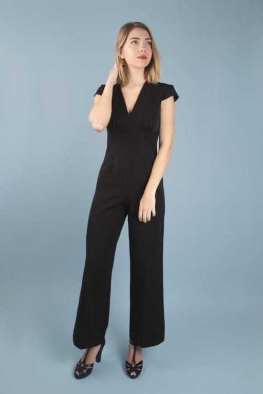 Venice Jumpsuit Black