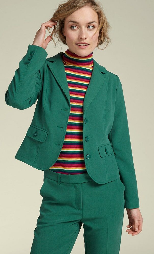 | Blazer Tribeca Peacock Green