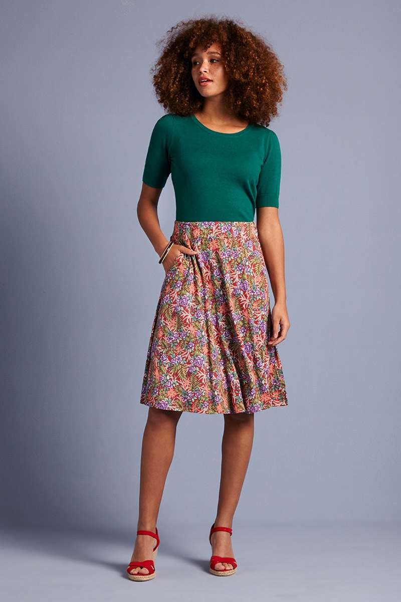 Serena Skirt Bahama Apple Pink