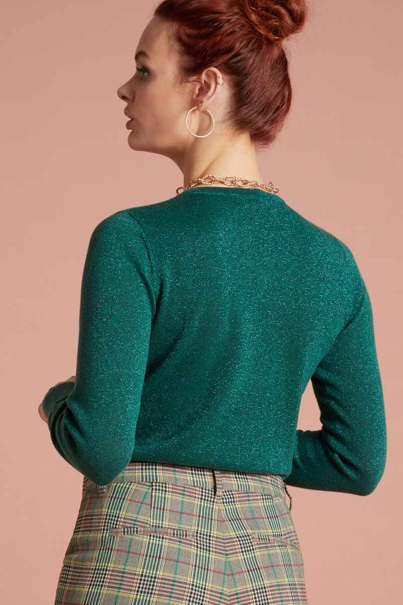 Tillie Top Lapis Fir Green