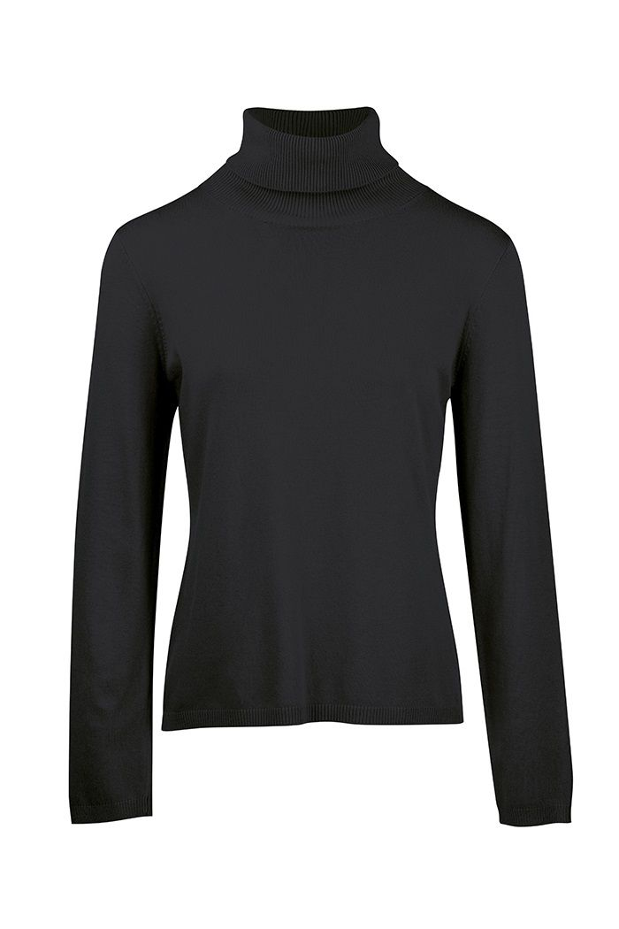 Sweater Roll Neck Black