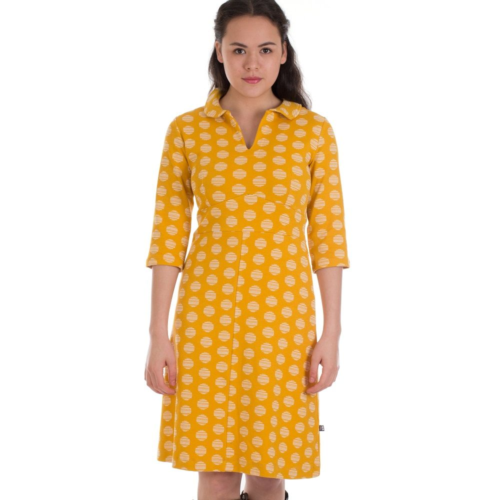 Dress Milou Circle Cotton Jacquard