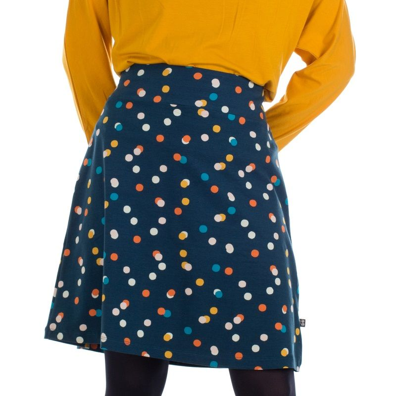 Skirt Long Confetti Jersey Cotton