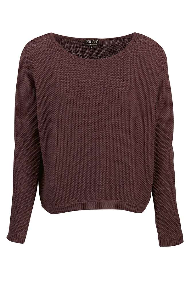 Sweater Aubergine