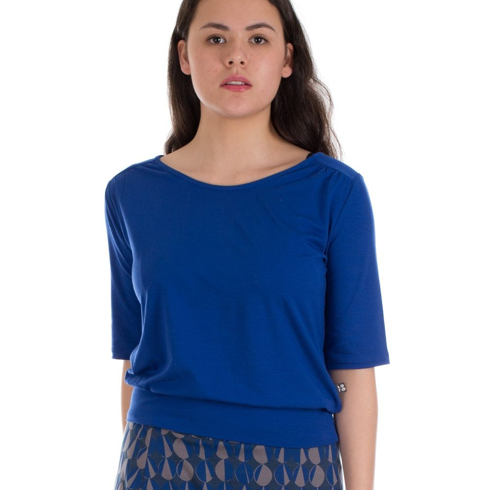 Shirt Valerie Hip Blue Tencel