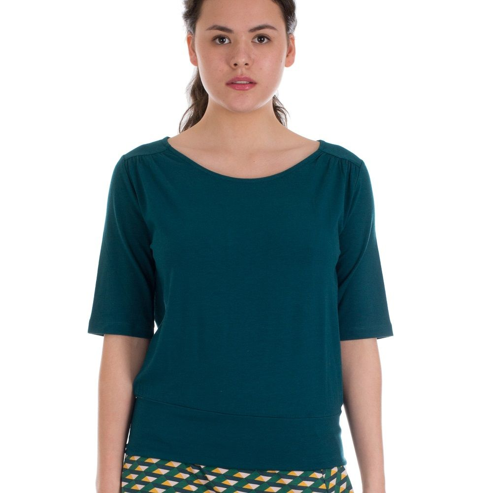 Shirt Valerie Wood Green Bamboo