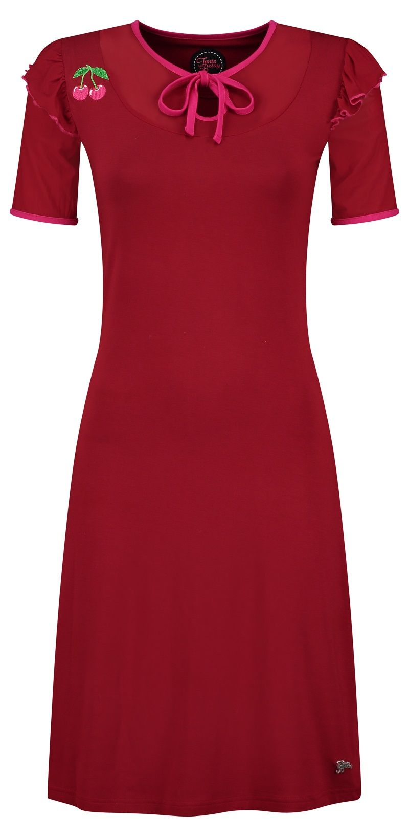 Dress Paola Cherry Red