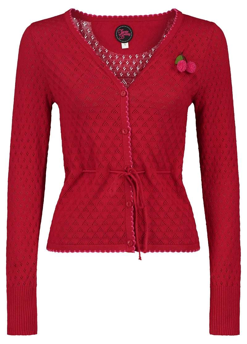 Cardigan Summer Frutti Red
