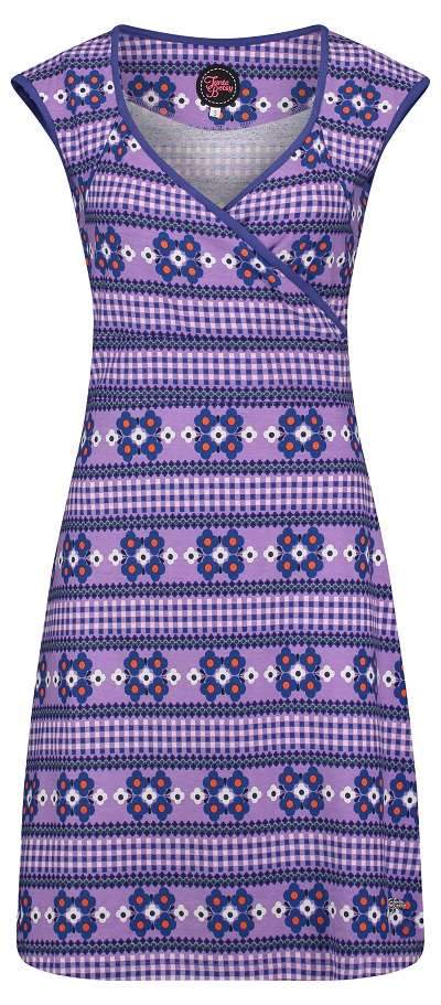 Summer Cross Dress Scandi Purple