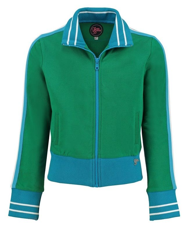 Sporty Jacket (loopknit solid) Green
