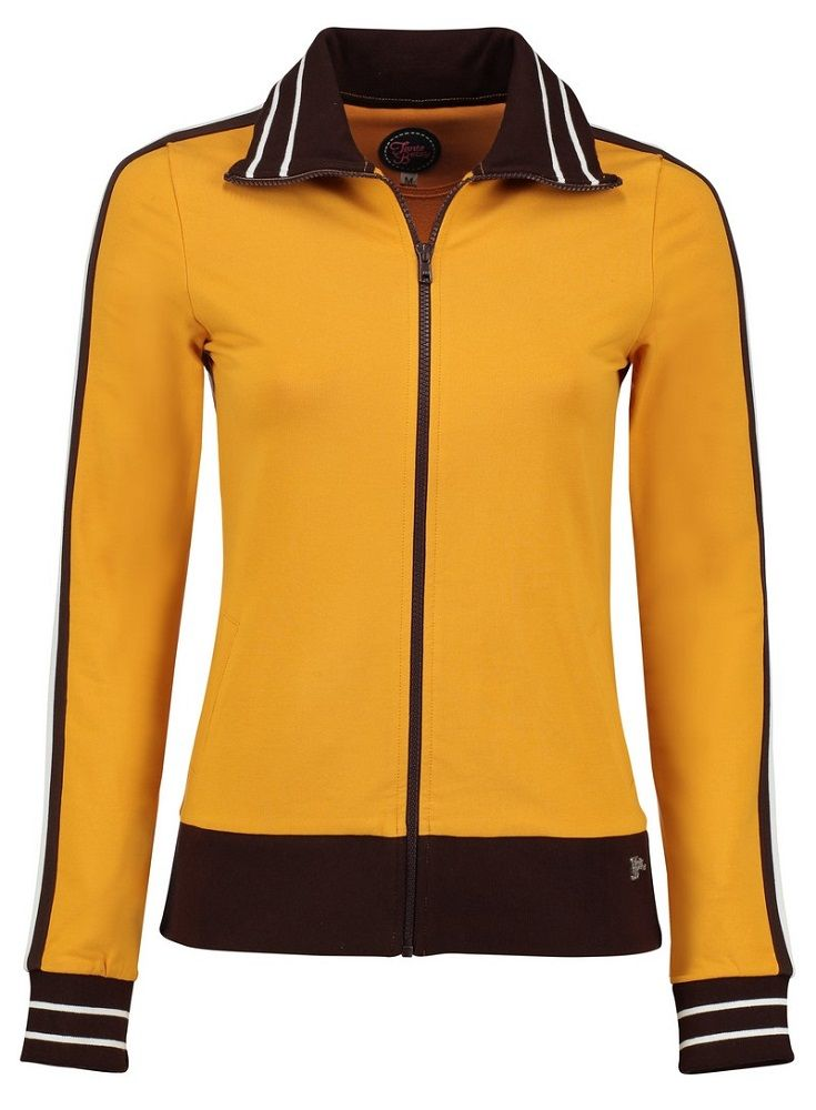 Sporty Jacket (loopknit solid) Gold