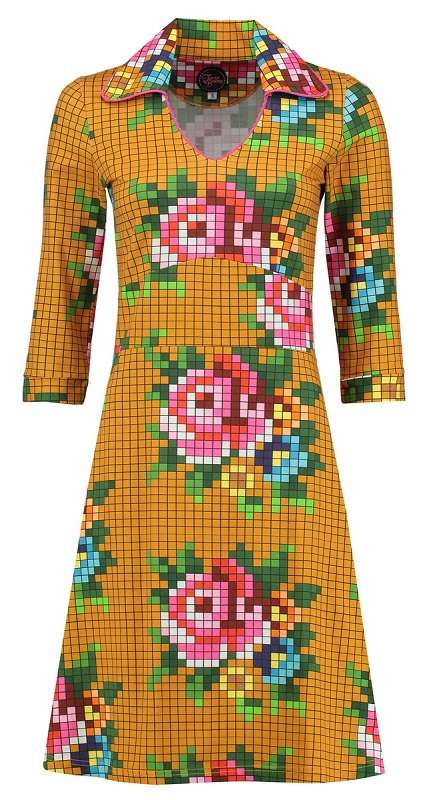 Dress Mia Pixel Rose Gold