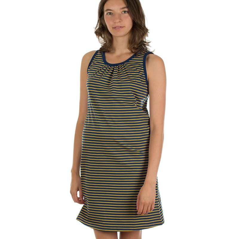 Marie Dress Stripes