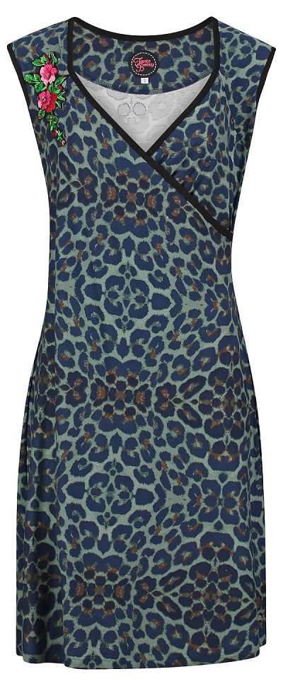 Dress Lambada Leopard Dark