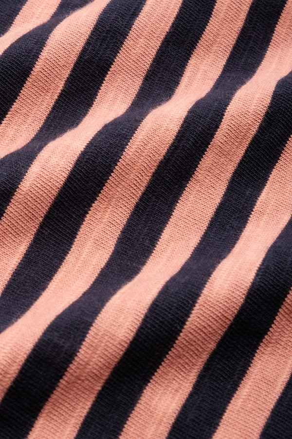 Lou Top Stripe Royale Dusty Rose