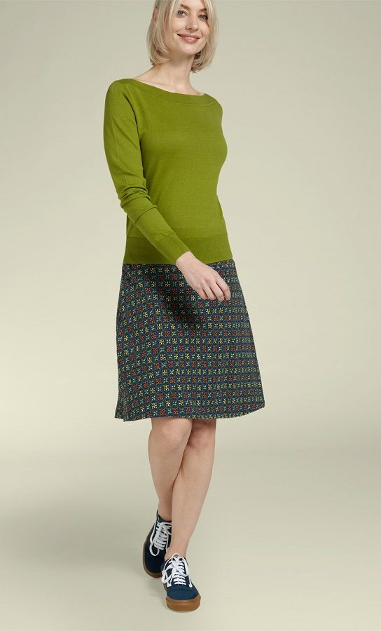 Audrey Top Cottonclub Posey Green