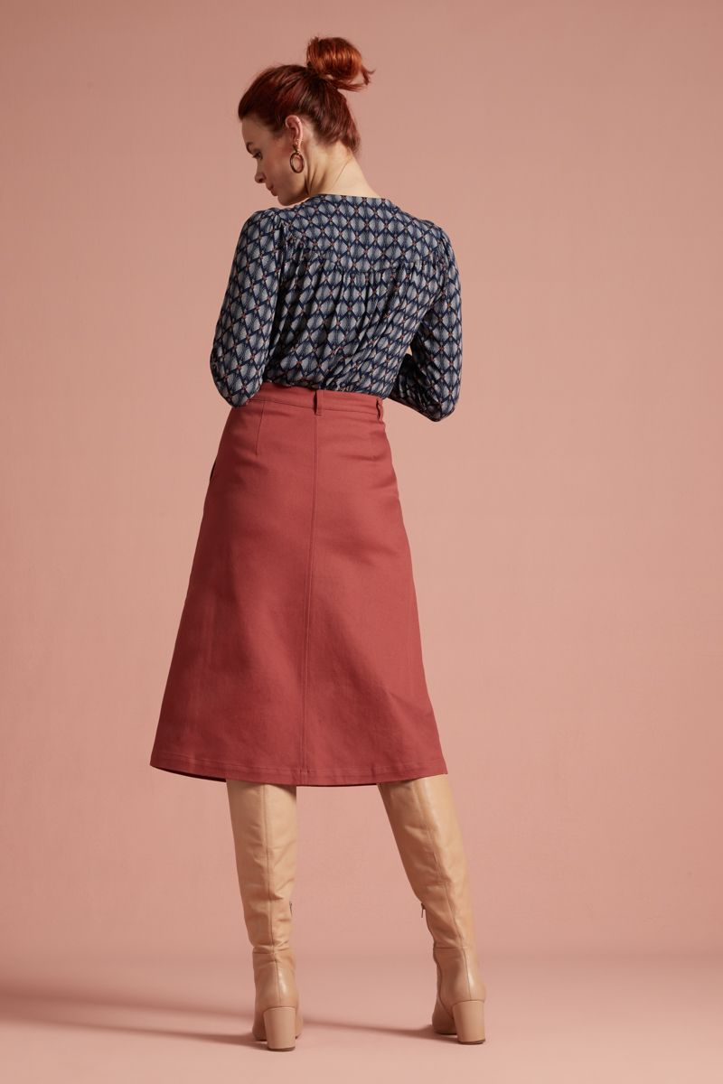 Mary Skirt Sturdy Desert Red