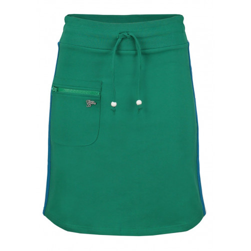 Skirt Zipper (solid) Stripe Green