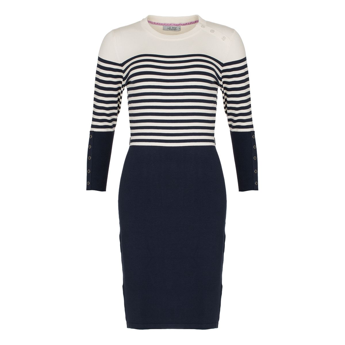 Dress Adelle Navy Stripe