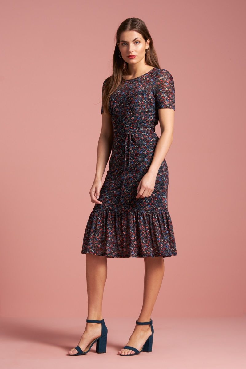 Bonnie Dress Dallas Black