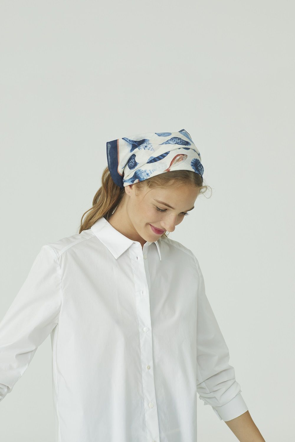 White Basic Poplin Shirt