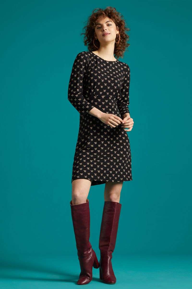 Duffy Dress Willow Black