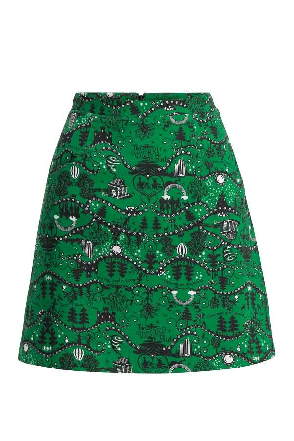 Blutsgeschwister Yellow Brick Road Skirt