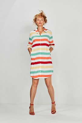 Dress Multistripe