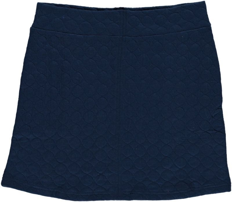 Quilted Skirt Solid Midnight
