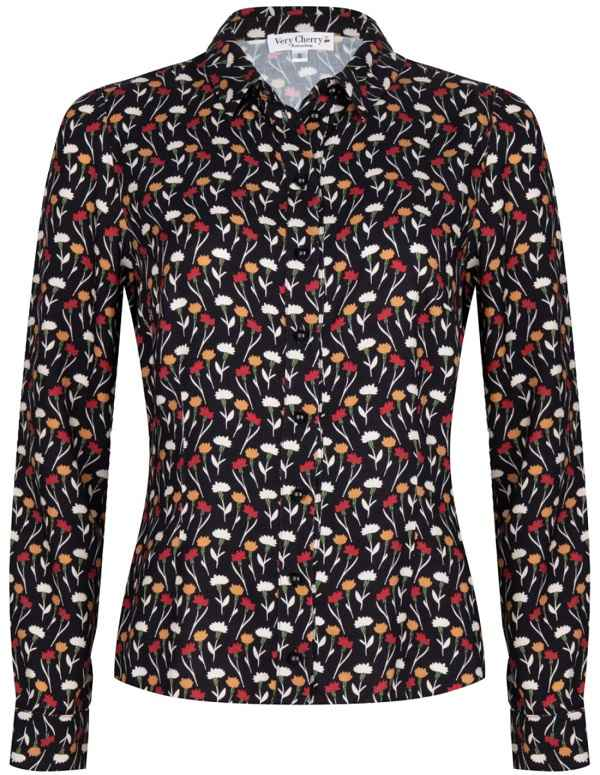 Jane Blouse Romanova Flowers