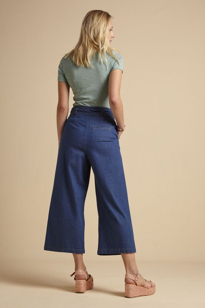Ava Pants Chambray River Blue