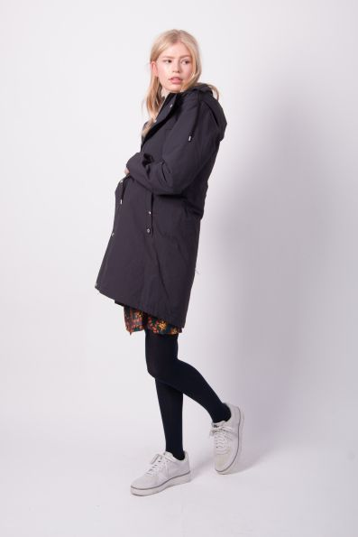 Lizzy Winter Parka Black