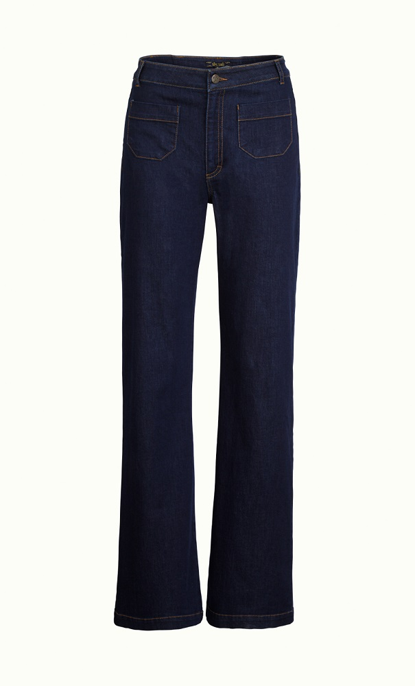 Garbo Pants Denim Ink Blue