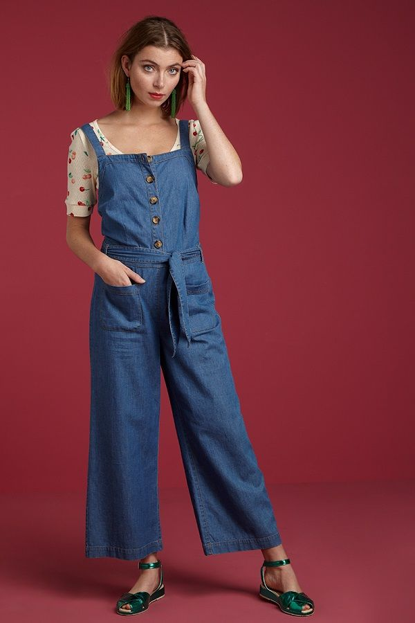 Beth Jumpsuit Chambray River Blue