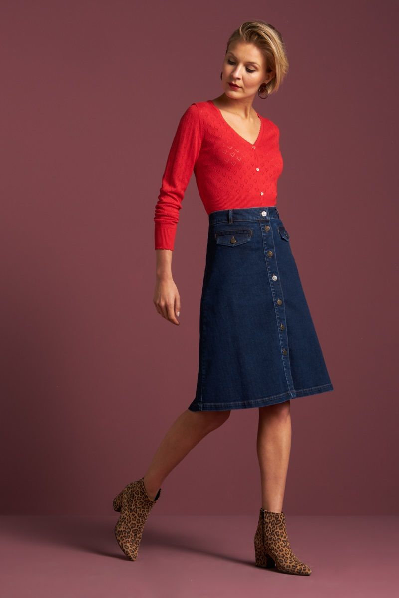 Caroll Skirt Denim Blue