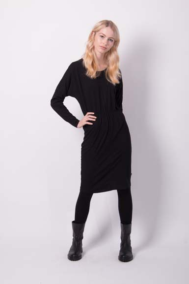 Infermiera Dress Black