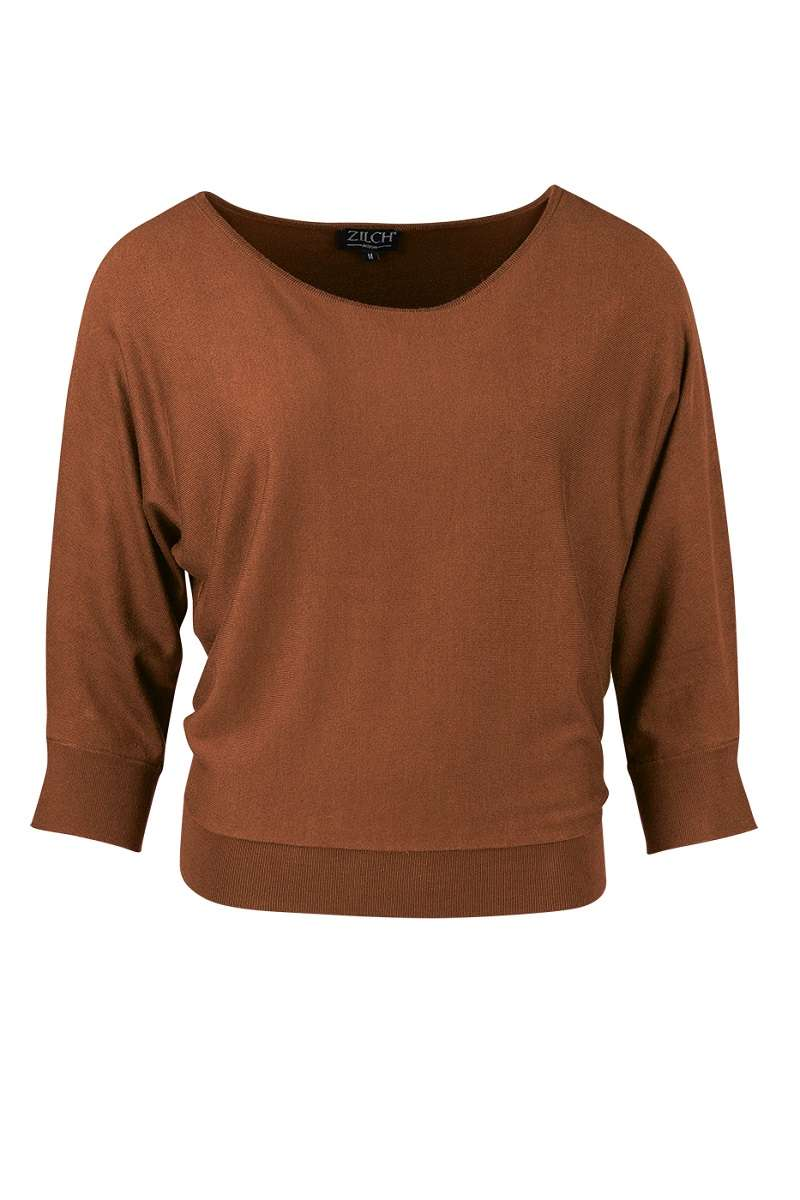 Batsleeve Sweater Wood