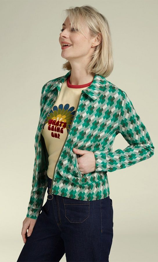 Twiggy Jacket Downtown Avar Green