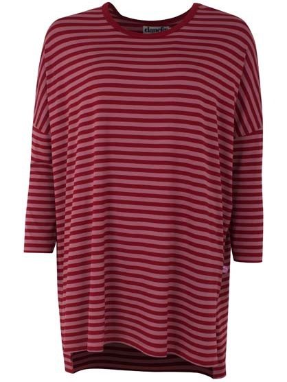 Notte Tunic Dark Red/Vintage Red