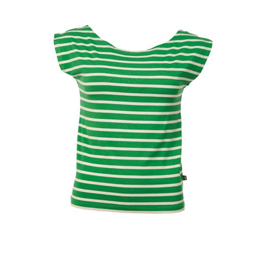 Shirt Lina Stripes Green Bamboo