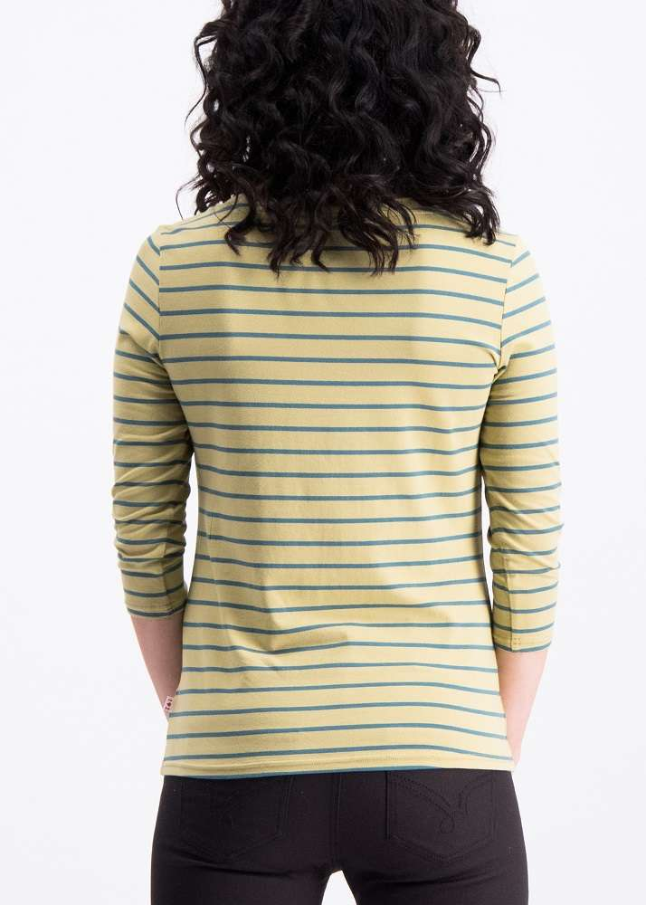Logo Stripes Sailorette 3/4 shirt