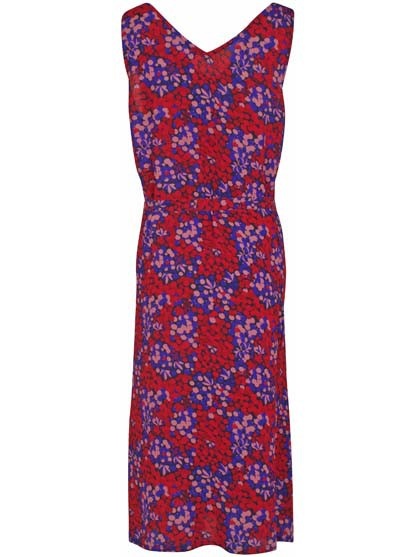 Riviera Dress Berry Good Blue