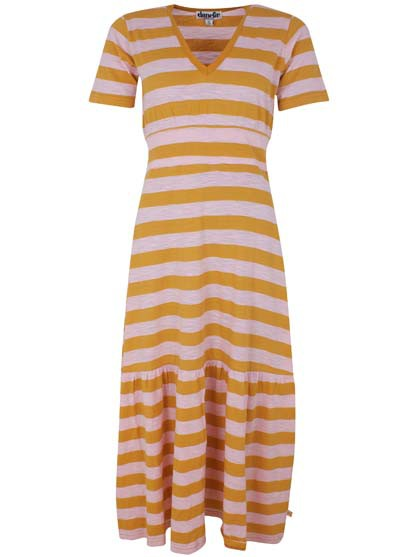 Nougat Dress Light Amber/Cute Pink