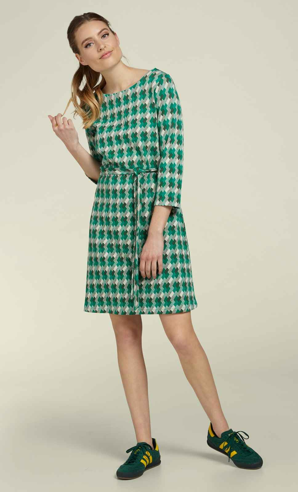 Zoe Dress Downtown Avar Green