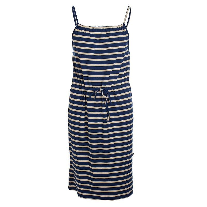 Dress Yvonne Stripes Marine Bamboo